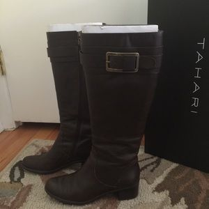 Brown Tahari boots