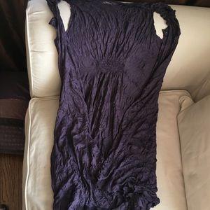 Lauren Vidal Other - Lauren Vidal sleeveless, open, long, deep purple.