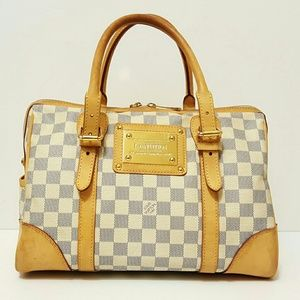LOUIS VUITTON DAMIER AZUR BERKELEY BAG