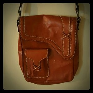 Genuine leather Gap bag