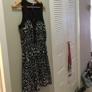 Francesca's Aztec print dress
