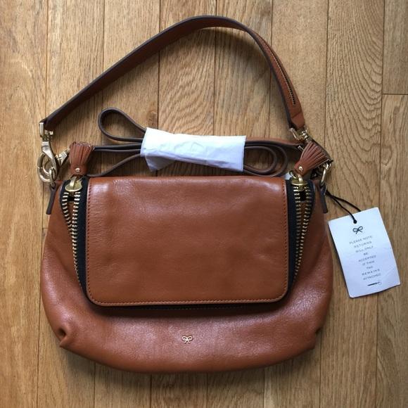 zipped crossbody bag - Blue Anya Hindmarch y9E1bNwG
