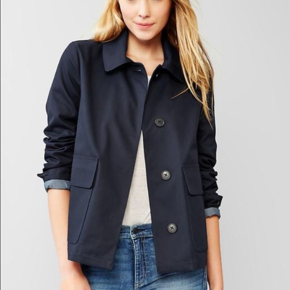 79% off GAP Jackets & Blazers - 🎉host pick 2/2016🎉🍾Gap Navy ...