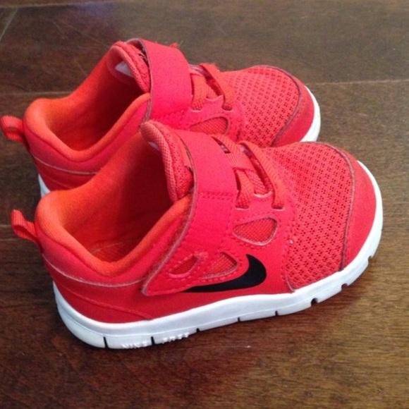 Nike Red Toddler Boy Sneakers 6c