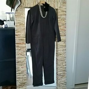 H&M Pants - REDUCED H&M Grey Jumpsuit