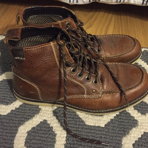 8bd6a829a19 SOLD! Crevo buck boots, lace up, size men's 9 1/2