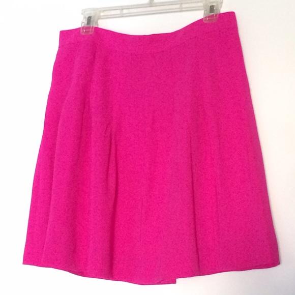 J. Crew Skirts - J.Crew Pleated Crepe Skirt