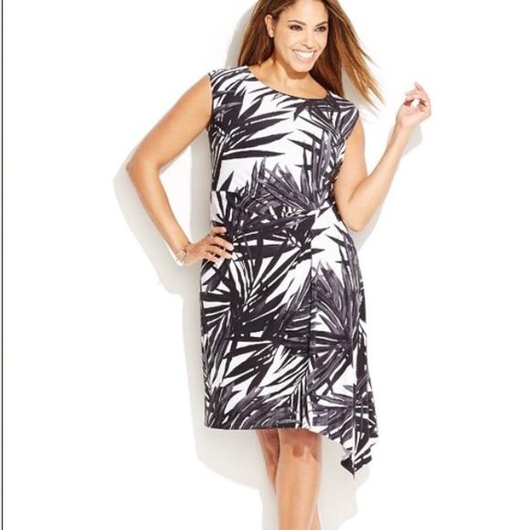 INC International Concepts Dresses   Plus Size Printed Dress   Poshmark