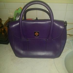 Kate Spade Purple Bond Street bag