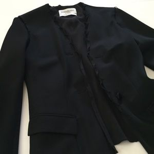 Impeccable YSL Evening Blazer with Shoulder Detail