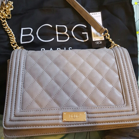 55% off BCBG Handbags - 50% off . Quilted bag. Authentic BCBG ... : grey quilted bag - Adamdwight.com