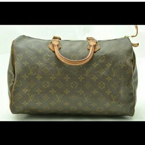 Auth Louis Vuitton vintage speedy 35 Handbag