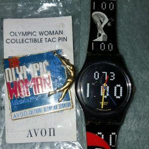 Atlanta, Ga Swatch Olympic watch Nadia Comaneci