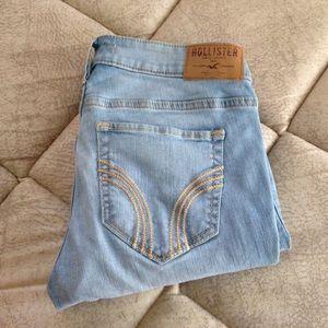 40% off Hollister Denim - Hollister medium wash super skinny jeans ...