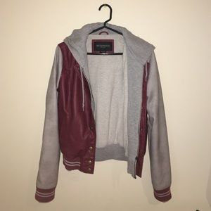 Leather Bomber Jacket from Urban Outfitters