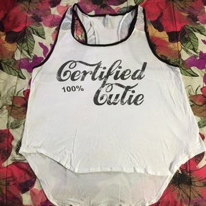 Tops - 100% Certified Cutie Tank Plus Size