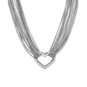 Tiffany & Co. 10- strand heart necklace (retired)