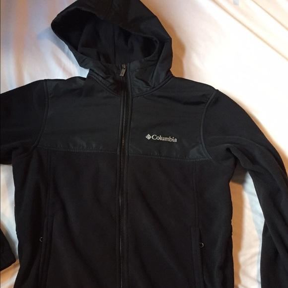 20% off Columbia Jackets & Blazers - Black Columbia Fleece with ...