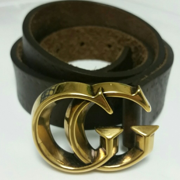 cc86b7b7d42 Gucci Accessories - Gucci Leather Belt with Double G