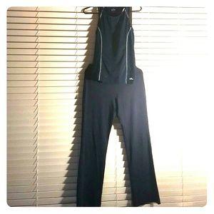 Black dress yoga pants zobha