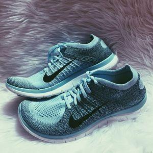 Las Mujeres Libres Nike Flyknit 4.0 Zapatos Para Correr Múltiples Lazo De Paisley De Color Negro 5zgaOya8b