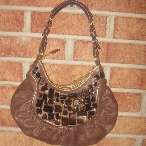 fa7fd910567 Cole Haan G Series Handbags - Cole Haan G Series Embellished Mini Hobo  Handbag