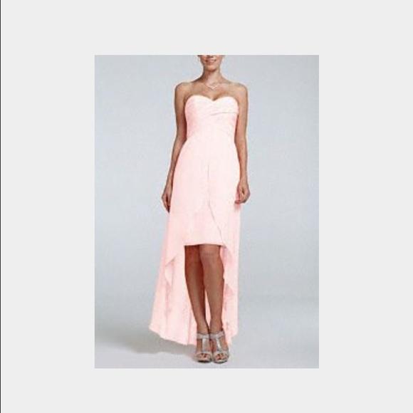 50 off david 39 s bridal dresses skirts david 39 s bridal for High low wedding dress davids bridal