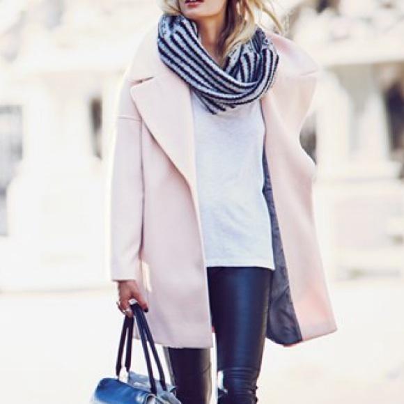 59% off Calvin Klein Jackets & Blazers - Calvin Klein blush pink ...