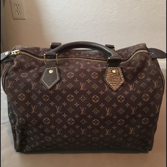 f4fd3014d011 Louis Vuitton Handbags - LV Louis Vuitton Mini Lin Speedy 30