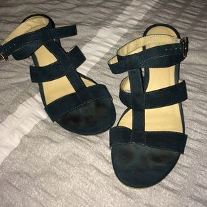 Dark teal wedges, Forever 21