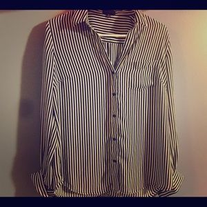 EXPRESS button up Dressy top