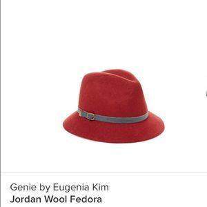 Eugenia Kim Accessories - Eugenia Jordan Wool Fedora Berry