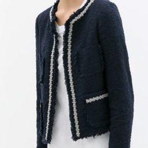 Zara Jackets & Blazers - Zara tweed blazer