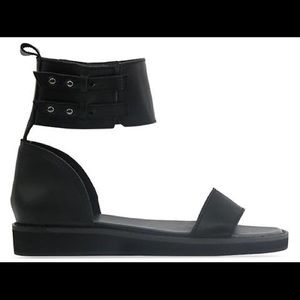 YES Shoes - Black sandal. Brand new with box
