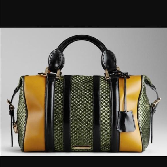 Burberry Handbags Yellow