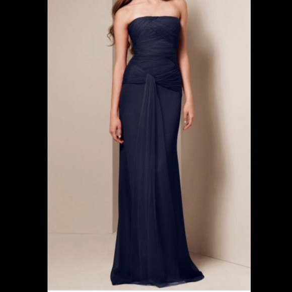 9978dc59c3d AFFORDABLE Vera Wang Midnight Blue Dress. M 56497b107e7ef6d1f901a450