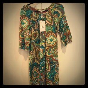 Tibi Dresses & Skirts - 💐🌻🍃Tibi print dress