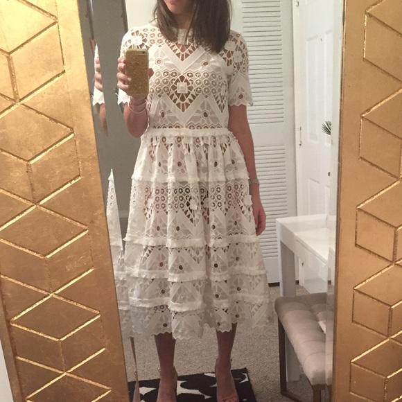 23e4dfa75235 Alexis Dresses & Skirts - Alexis Benati Crochet Dress