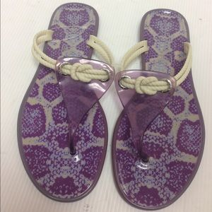 Sperry Top-Sider Shoes - New Sperry Top-Sider Jellyfish Flip Flop Sandals