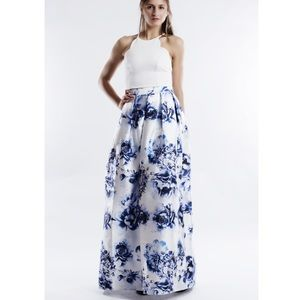 "Bare Anthology Dresses & Skirts - X ""Rose Aylmer"" Fit & Flare A-line Maxi Skirt"