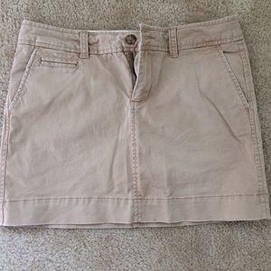 Old Navy Khaki skirt