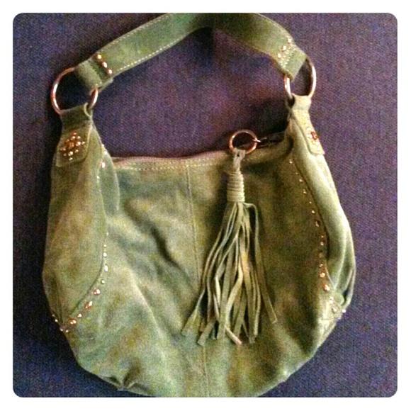 Lucky Brand Bags   Suede Boho Purse   Poshmark 04bae18c3c