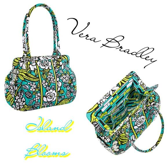 Vera Bradley Bags | Island Blooms Frame Shoulder Bag | Poshmark
