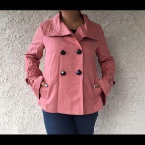 Zara Jackets & Blazers - Zara Woman red peacoat jacket Medium