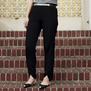 H&M Pants - H&M tulip hem joggers size 6