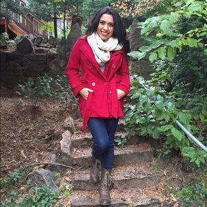 Jackets & Coats - Pink Peacoat