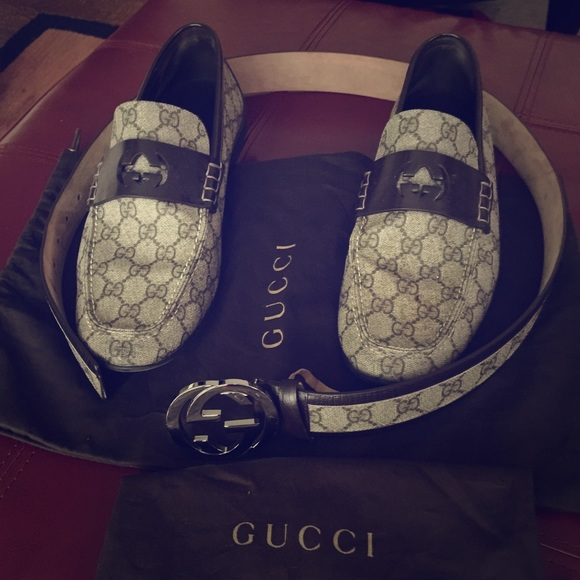 a55a7e73f Gucci Other - Men's Gucci shoes and belt( authentic )