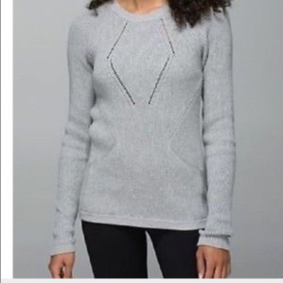 71% off lululemon athletica Sweaters - Lululemon grey cotton ...