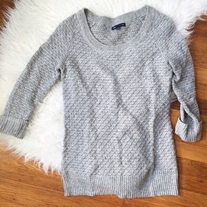 GAP Sweaters - GIFTED -- Gap light gray sweater