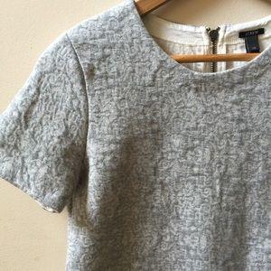 J. Crew short sleeve sweatshirt